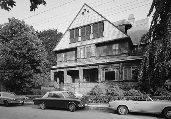1969 VIEW OF NORTH FRONT