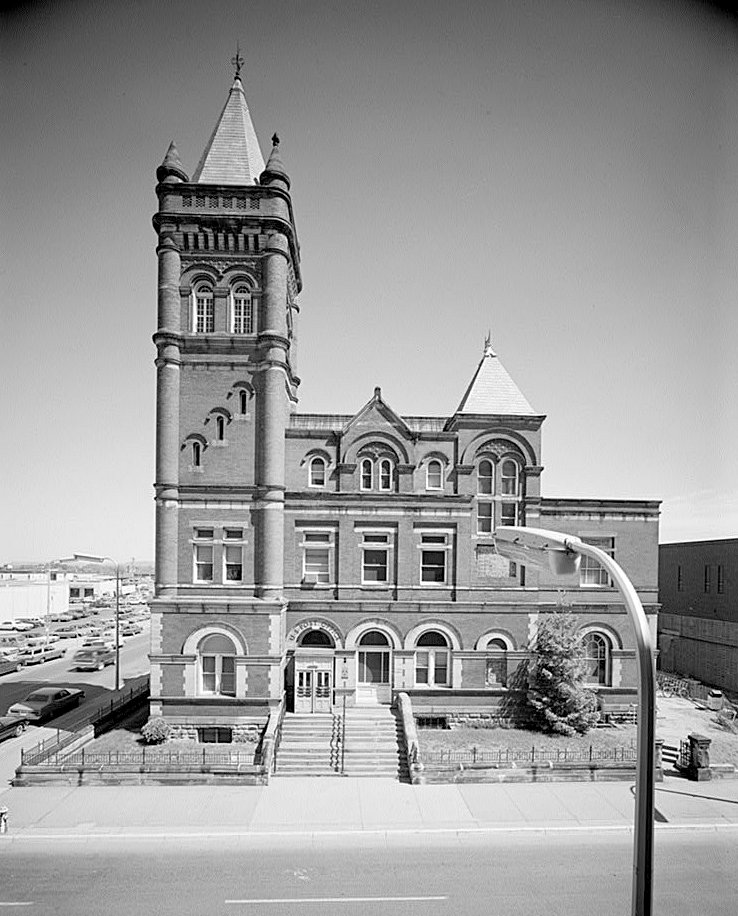 United States Courthouse and Post Office SOUTH ELEVATION