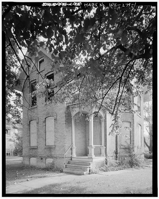 Wesley Methodist Church Parsonage WEST FRONT AND SOUTH SIDE